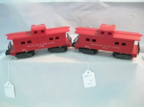 Lot American Flyer Trains & Accessories