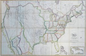 Lot Important Maps in American History & Audubon