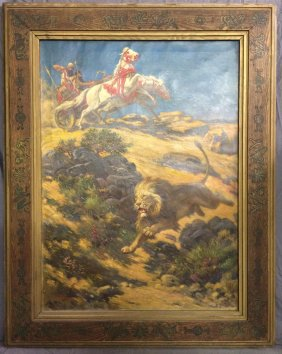 Lot Paintings, Bronzes, Jewelry, & More