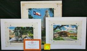 Lot Orig. illustr. Art, Postcards, & Ephemera
