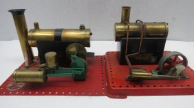 Lot Live Steam Model Engines, Tools &  Records