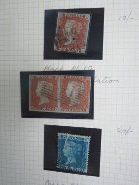 Lot Stamps, Postcards & Cigarette Cards