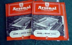 Lot Soccer Programs from 1930's