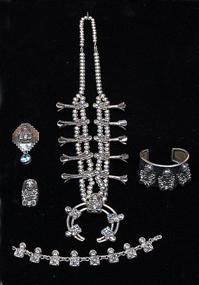 Lot Native American Indian Estate Jewelry