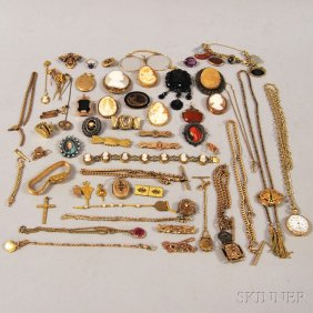 Lot Discovery: Silver, Estate Jewelry, & Textiles