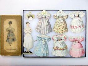 Lot Vintage Paper Doll Auction
