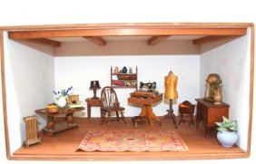 Lot Dolls, Dollhouses & Miniatures Auction