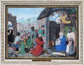 Lot Fine Paintings, Antiques and Jewelry