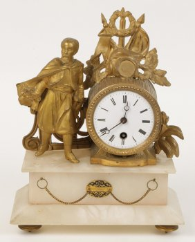 Lot Arch. Antiques & Clock Collection- No Reserve