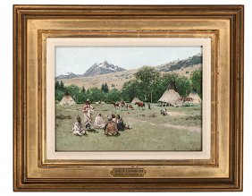 Lot American Indian and Western Art