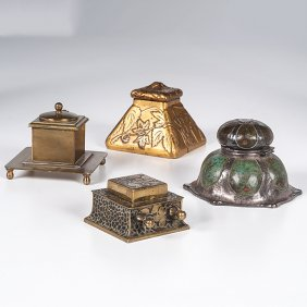 Lot Fine Desk Accessories: Pens and Paperweights