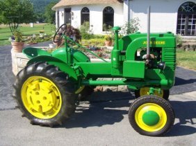 Lot Absolute Antique John Deere Tractor Auction