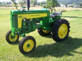 Lot Absolute Antique John Deere Tractor Auction
