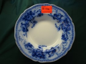 Lot Flow Blue, Majolica, Roseville Auction