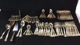 Lot Silver, Antiques, Furniture, & collectibles