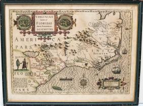 Lot 18th-20th Century Antiquarian Map Auction