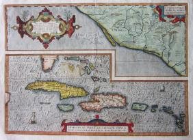 Lot Antiquarian Maps of Islands