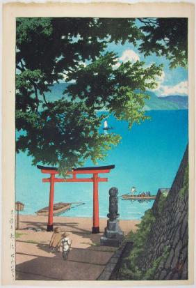 Lot Japanese Woodblock Prints Auction
