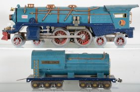 Lot American & European Toy Train Auction