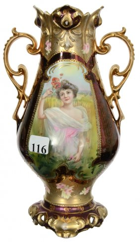 Lot R.S. Prussia and Royal Bayreuth Auction