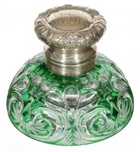 Lot American Brilliant Cut Glass Auction