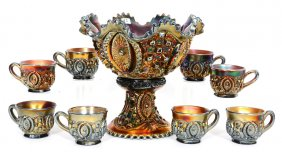 Lot Carnival Glass Auction