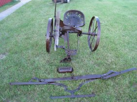 Lot Gary Polk Antique Tractor Memorabilia Auction