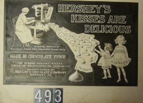 Lot Hershey Chocolate Memorabilia Auction