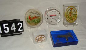 Lot Tobacciana, Toy Soldiers, Gun Collectibles