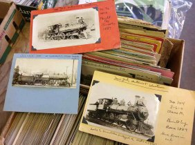 Lot Walter Rich Railroad Sports & More Auction