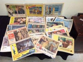 Lot Ephemera Movie Posters Military & More!
