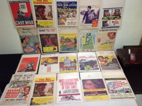 Lot Ephemera Movie Posters Military & More!