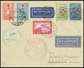 Lot Zeppelin Mail Auction Sale #333