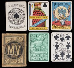 Lot Gambling Memorabilia & Rare Playing Cards I