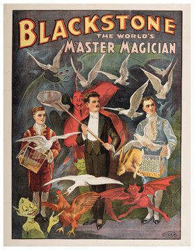 Lot The Golden Age of Magic Posters