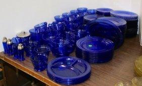Lot Estate Auction of Glassware Fiesta Adv Items