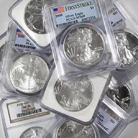 Lot Tangible Asset Auction-Gold-Silver-Coins-