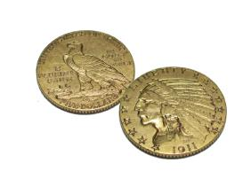 Lot Gold and Silver Coins- Bullion - Investments
