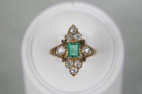Lot Fine & Costume Estate Jewelry Brass Bugle NR