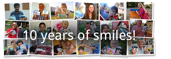 Ten years of smiles!