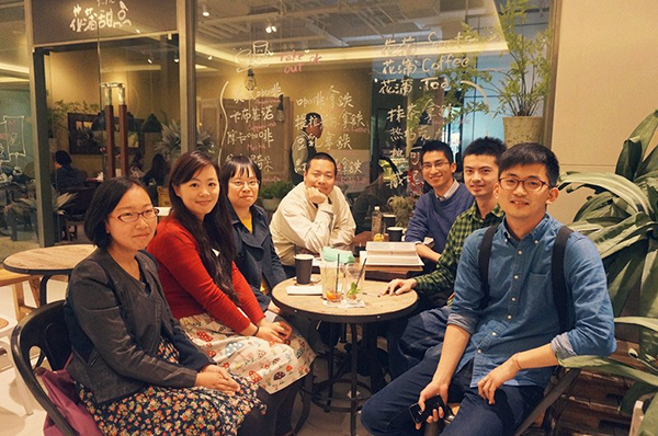 Postcrossing meetup in Shanghai