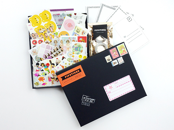Pipsticks sticker box