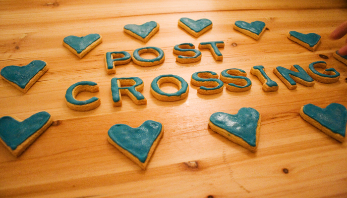 Postcrossing cookies
