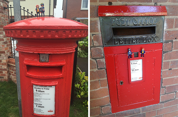 The Little Mail Carriers in Leicestershire, UK! - part 2