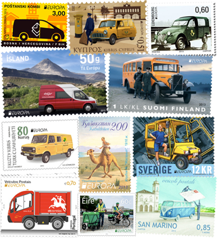 Best EUROPA stamp competition 2013