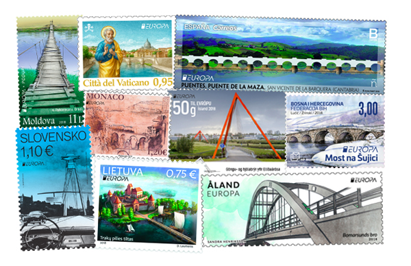 EUROPA stamp 2018