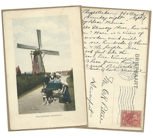 Postcard from The Netherlands
