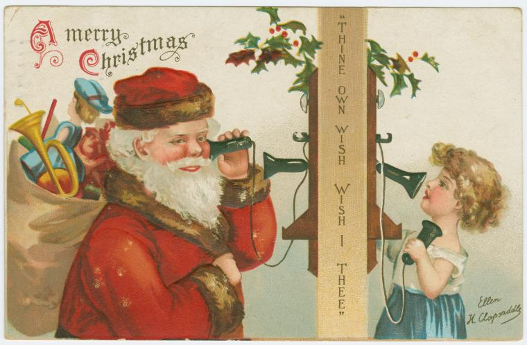 A merry Christmas. Digital ID: 1586998. New York Public Library