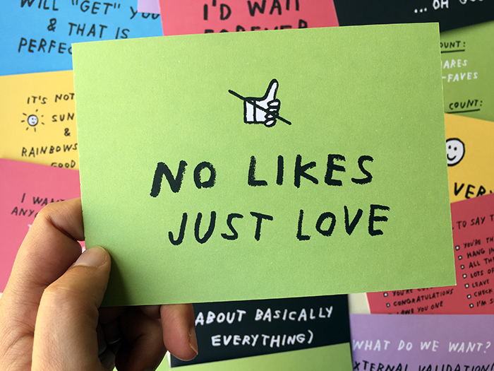 No likes — just love!