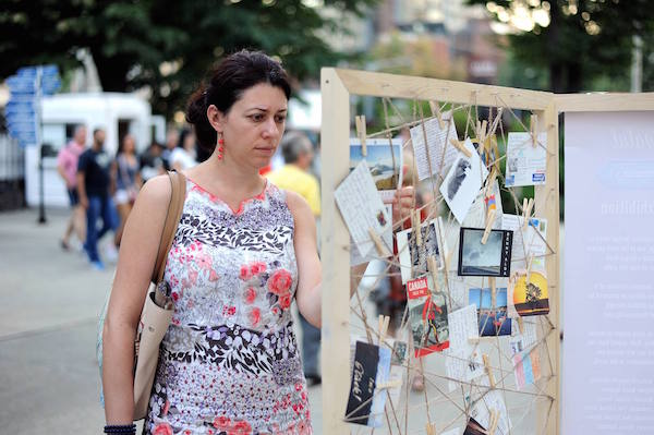 Armenian Street Festival - Postcrossing exhibition